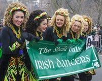 Chicago Saint Patrick parade Stock Image