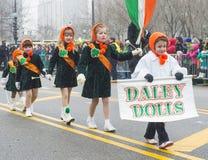 Chicago Saint Patrick parade Royalty Free Stock Image