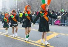 Chicago Saint Patrick parade Stock Photos