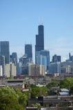 Chicago schroeit Toren Stock Foto