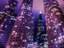 Chicago Sears Tower fotografia stock libera da diritti