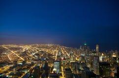 chicago Sears Tower sikt Fotografering för Bildbyråer
