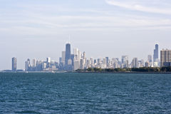 Chicago Seen From The North Stock Photos