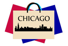 Chicago shopping Royalty Free Stock Image