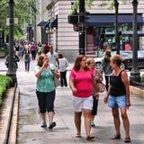 Chicago shopping Stock Image