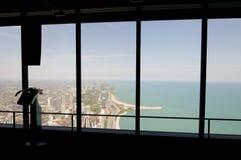 chicago sikt Royaltyfri Bild