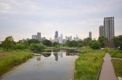 Chicago siktszoo Arkivbild