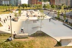 Chicago Skatepark Foto de archivo libre de regalías