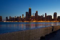 Chicago sky line Royalty Free Stock Photography
