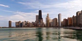 Chicago-Skyline Lizenzfreie Stockfotografie