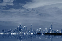 Chicago skyline. Stock Images