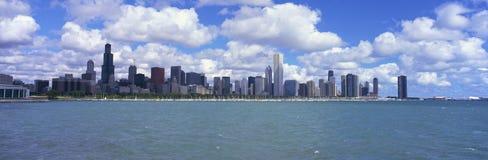 Chicago skyline Royalty Free Stock Photos