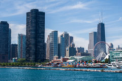 Chicago Skyline Stock Images