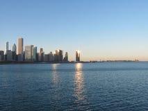 Chicago-Skyline Lizenzfreie Stockfotos