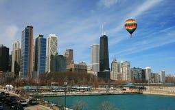 The Chicago Skyline Royalty Free Stock Photos