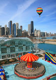 The Chicago Skyline Stock Photography