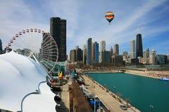 The Chicago Skyline Stock Image