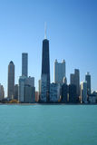 Chicago-Skyline Stockfoto