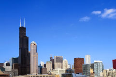 Chicago Skyline Royalty Free Stock Photo