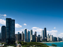 Chicago Skyline. From Navy Pier Stock Image