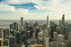 Chicago Skyline Royalty Free Stock Photography