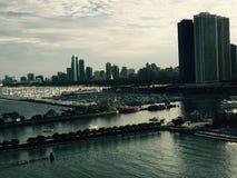Chicago skyline stock image