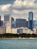 Chicago Skyline Buildings - Chicago, Illinois Stock Photo