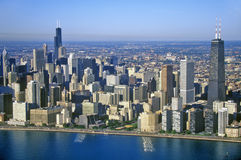 The Chicago Skyline, Chicago, Illinois Stock Images