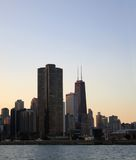 Chicago skyline detail Royalty Free Stock Photo