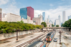 Chicago skyline, Illinois Royalty Free Stock Image