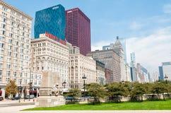 Chicago skyline, Illinois Stock Image