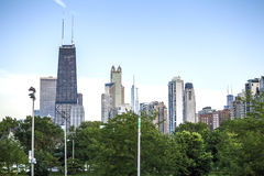 Chicago skyline, Illinois, USA Royalty Free Stock Image