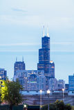 Chicago skyline, Illinois, USA Stock Photography