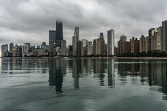 Chicago skyline in the morning Stock Image