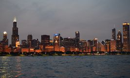 Chicago skyline. Royalty Free Stock Photography