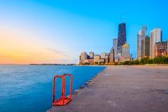 Chicago skyline Royalty Free Stock Photo