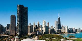 Chicago Skyline Stock Photos