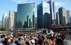 Chicago skyline, USA Stock Photography