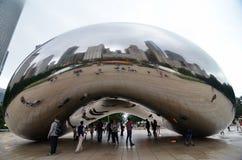Chicago skyline, USA Royalty Free Stock Photos