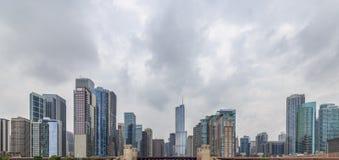 Chicago Skyscraper Cityscape Stock Photos