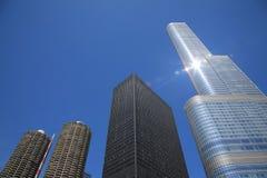 Chicago Skyscrapers Stock Image