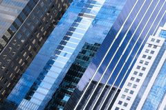 Chicago skyscrapers abstract Royalty Free Stock Image