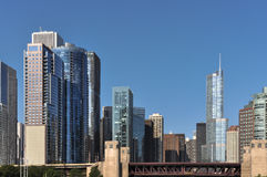 Chicago skyscrapers, Illinois Royalty Free Stock Image