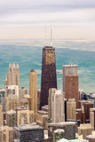 Chicago Skyscrapers and Lake Royalty Free Stock Photos