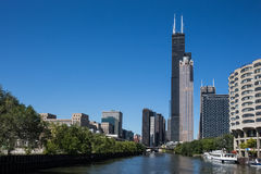 Chicago Skyscrapers Royalty Free Stock Photography
