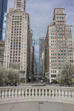 Chicago Skyscrapers Vertical Royalty Free Stock Image