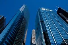chicago skyskrapor Arkivfoto