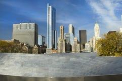 chicago skyskrapor Arkivbilder