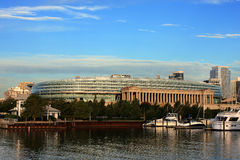 Chicago Soldier Field. Chicago football stadium where Chicago Bears play Royalty Free Stock Images
