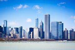 Chicago am Sommer stockfotografie